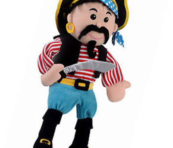 Stripes Pirate Hand Puppet