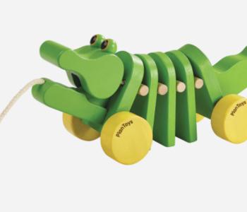 Plan Toys Dancing Alligator Pull Along Toy