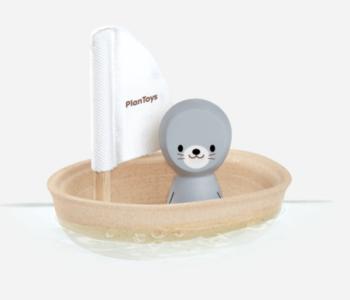 Seal on a Sailboat Bath Toy