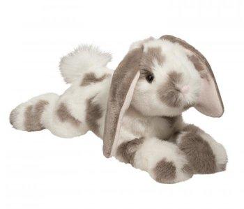 Ramsey Gray Spotted Floppy Bunny