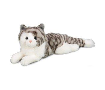 Smokey Grey Cat Plush