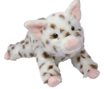 Levi Brown Spotted Pig Plush