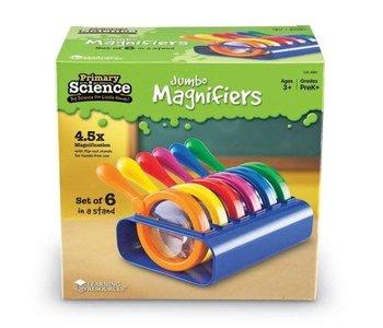 6 Jumbo Magnifiers