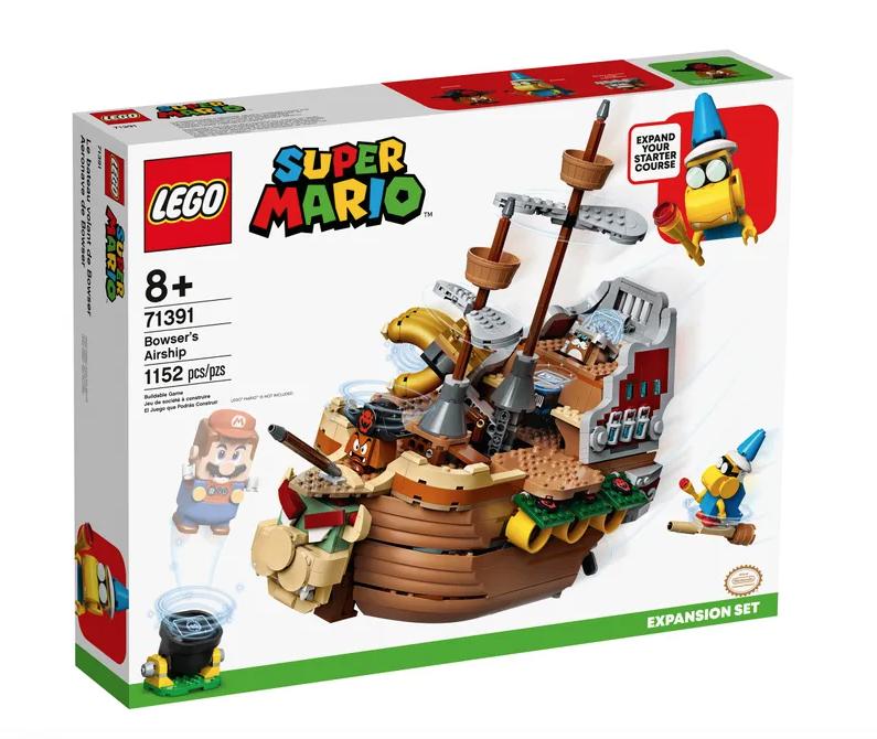 LEGO® Bowser's Airship-Super Mario-Expansion Set