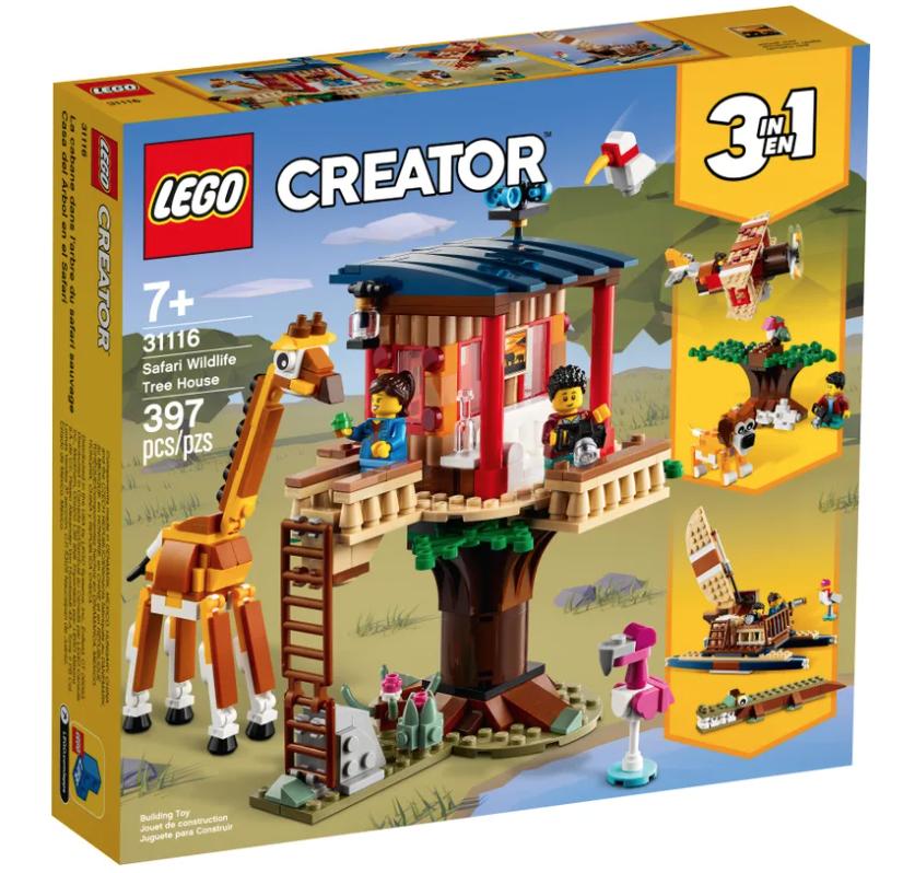 LEGO® Creator 3in1 Safari Wildlife Tree House