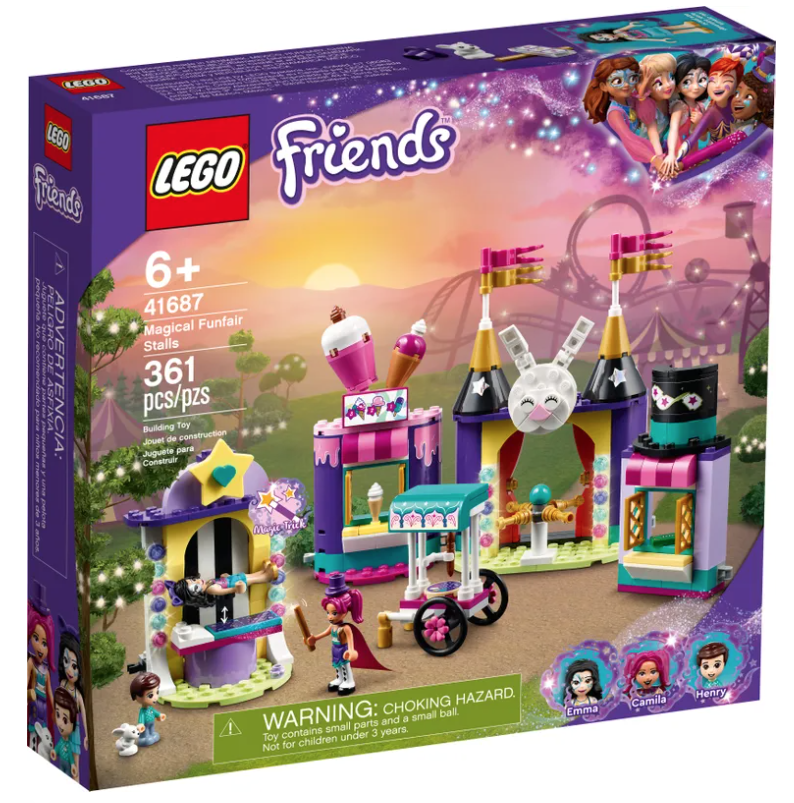 LEGO® Magical Funfair Stalls