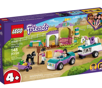 LEGO® Horse Training and Trailer