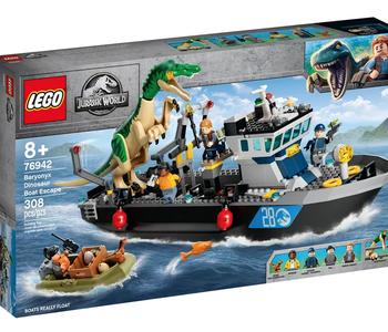 LEGO® Baryonyx Dinosaur Boat Escape