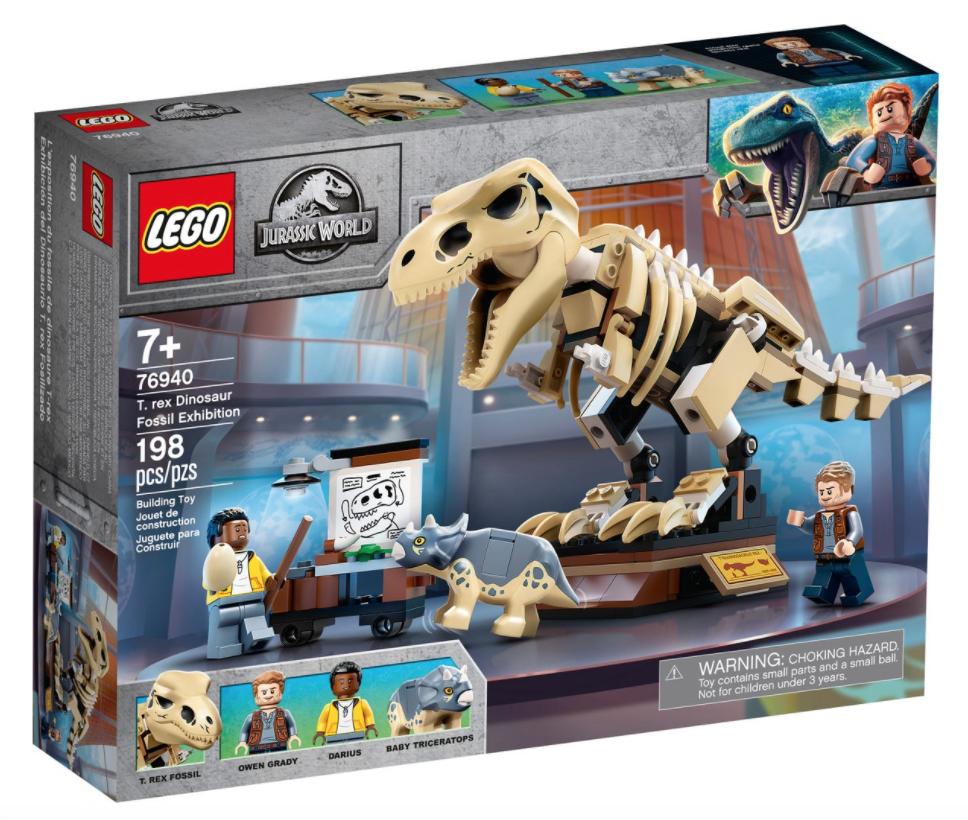 LEGO® T.Rex Dinosaur Fossil Exhibition