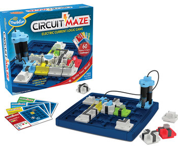 Circuit Maze Electric Current Logic Game