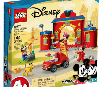 LEGO® Mickey & Friends Fire Truck & Station