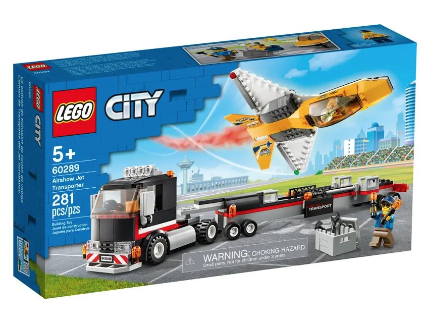 LEGO® Airshow Jet Transporter