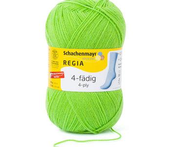 Regia 4ply Colour - Neon Green/6613