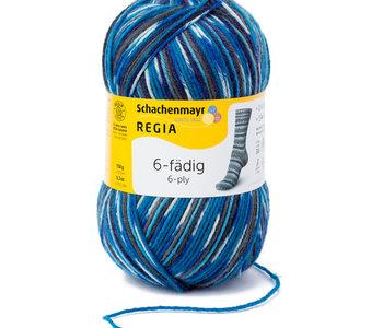 Regia 6ply - Irland Petrol/5859
