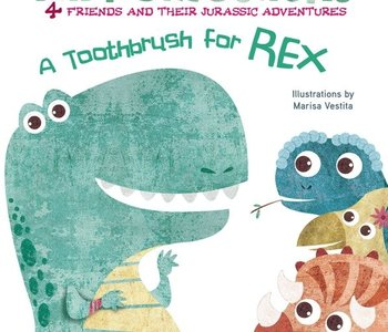 A Toothbrush For Rex Board Book