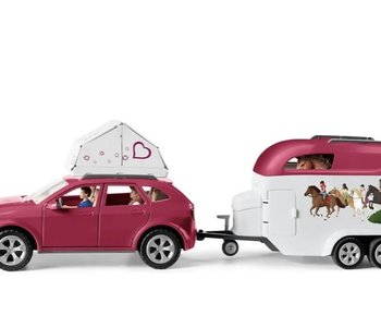 Horse Adventures with Car and Trailer
