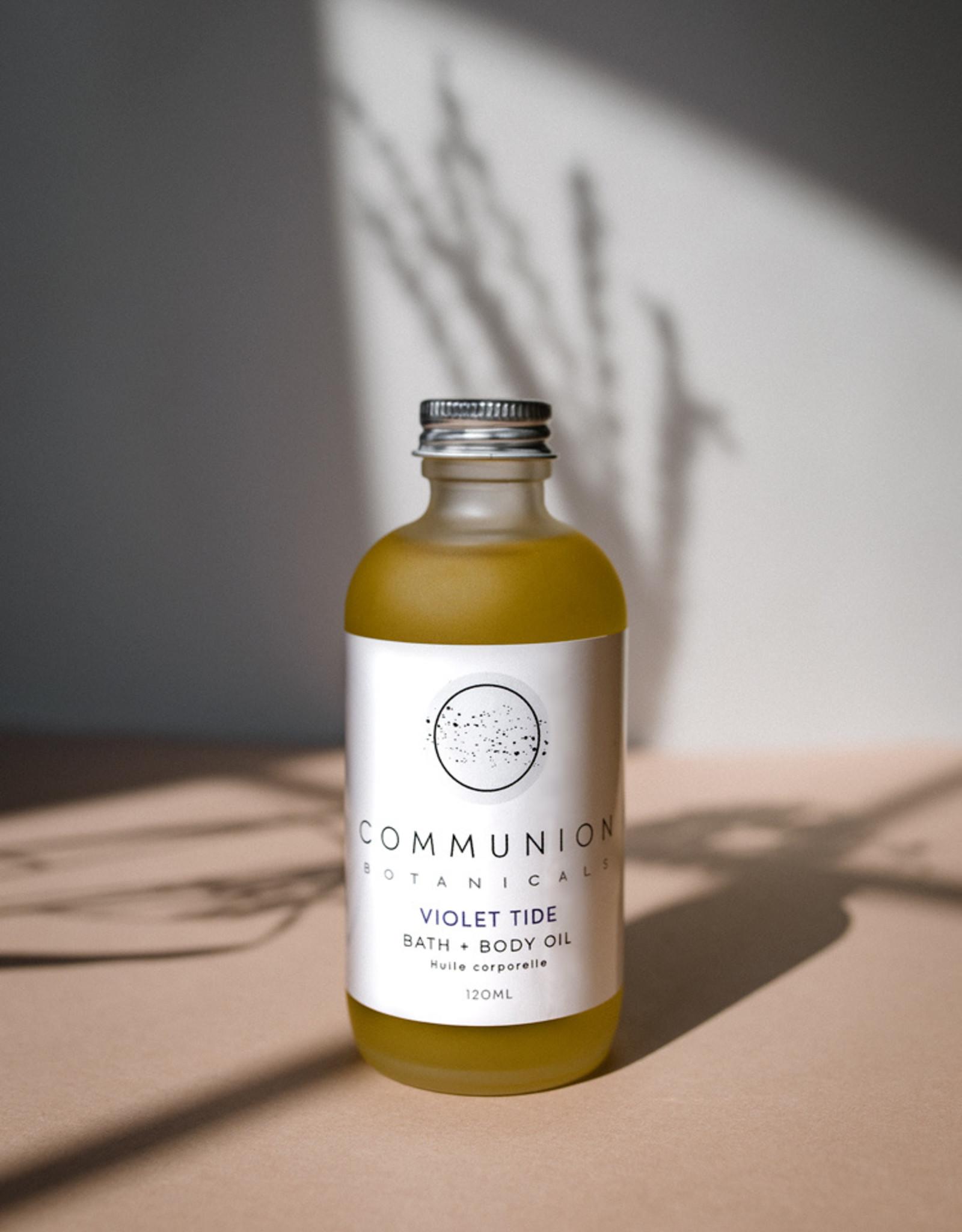 Communion Botanicals Violet Tide Bath & Body Oil