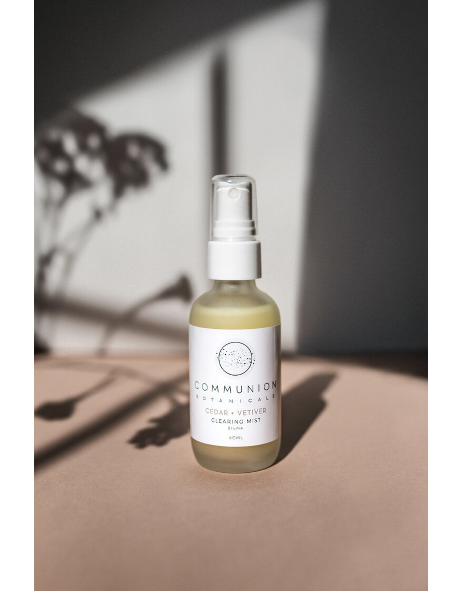 Communion Botanicals Cedar & Vetiver Clearing Mist