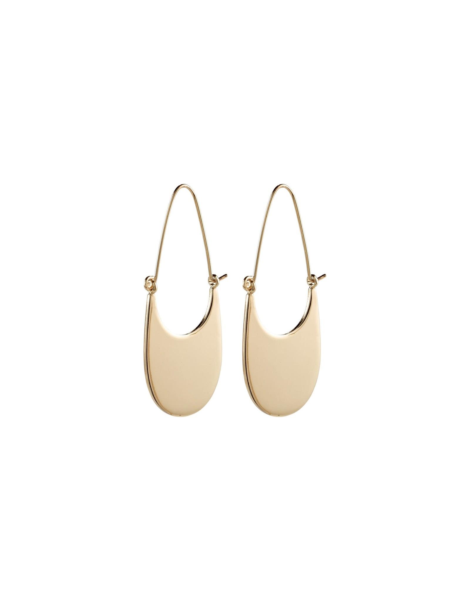 Pilgrim Earrings Everly Gold Plated Pilgrim