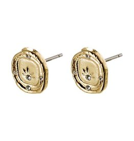 Pilgrim Feelings of L.A. Gold  Plated Earrings