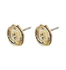 Pilgrim Feelings of L.A. Gold  Plated Earrings