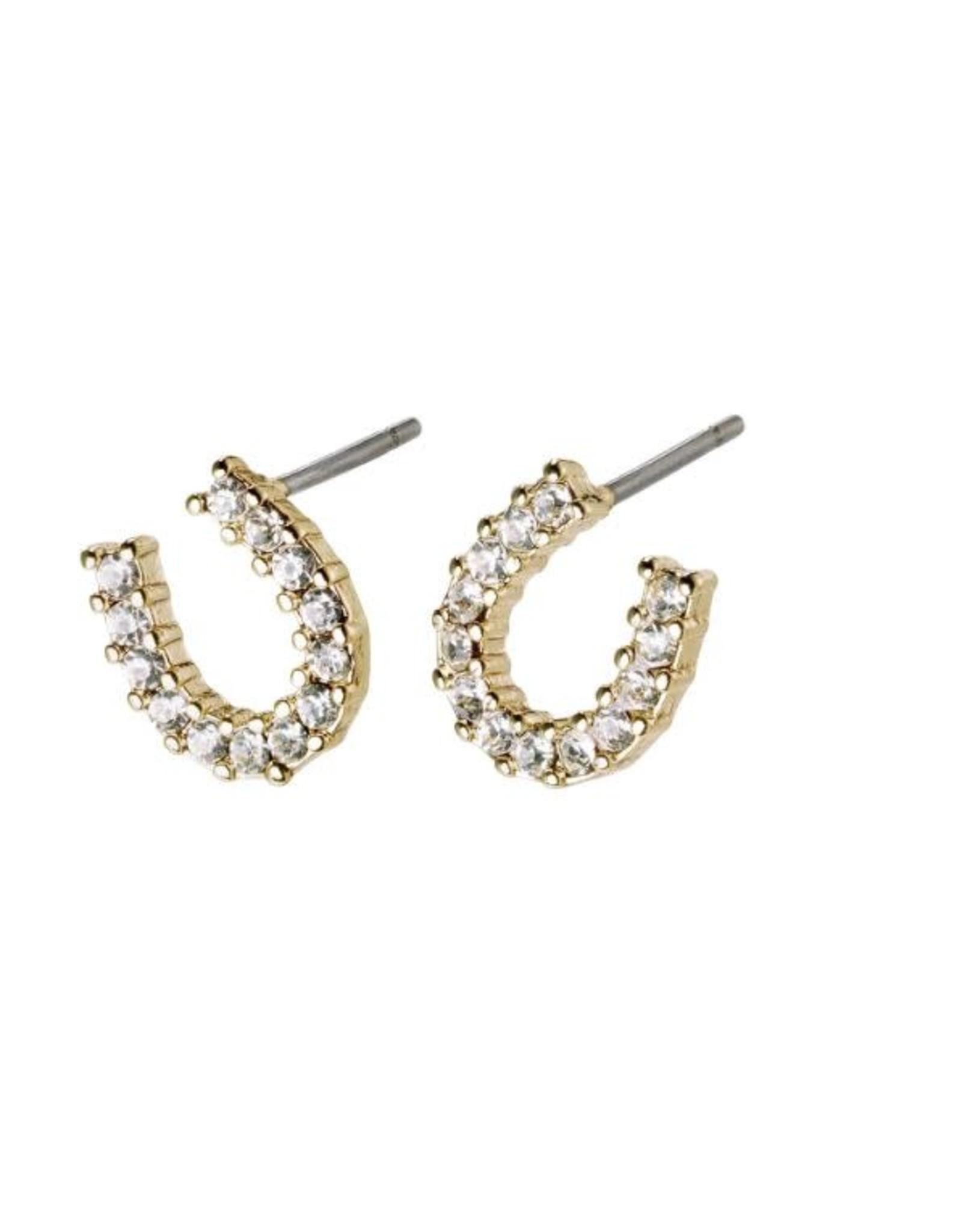 Pilgrim Earrings Leanna Gold Pilgrim