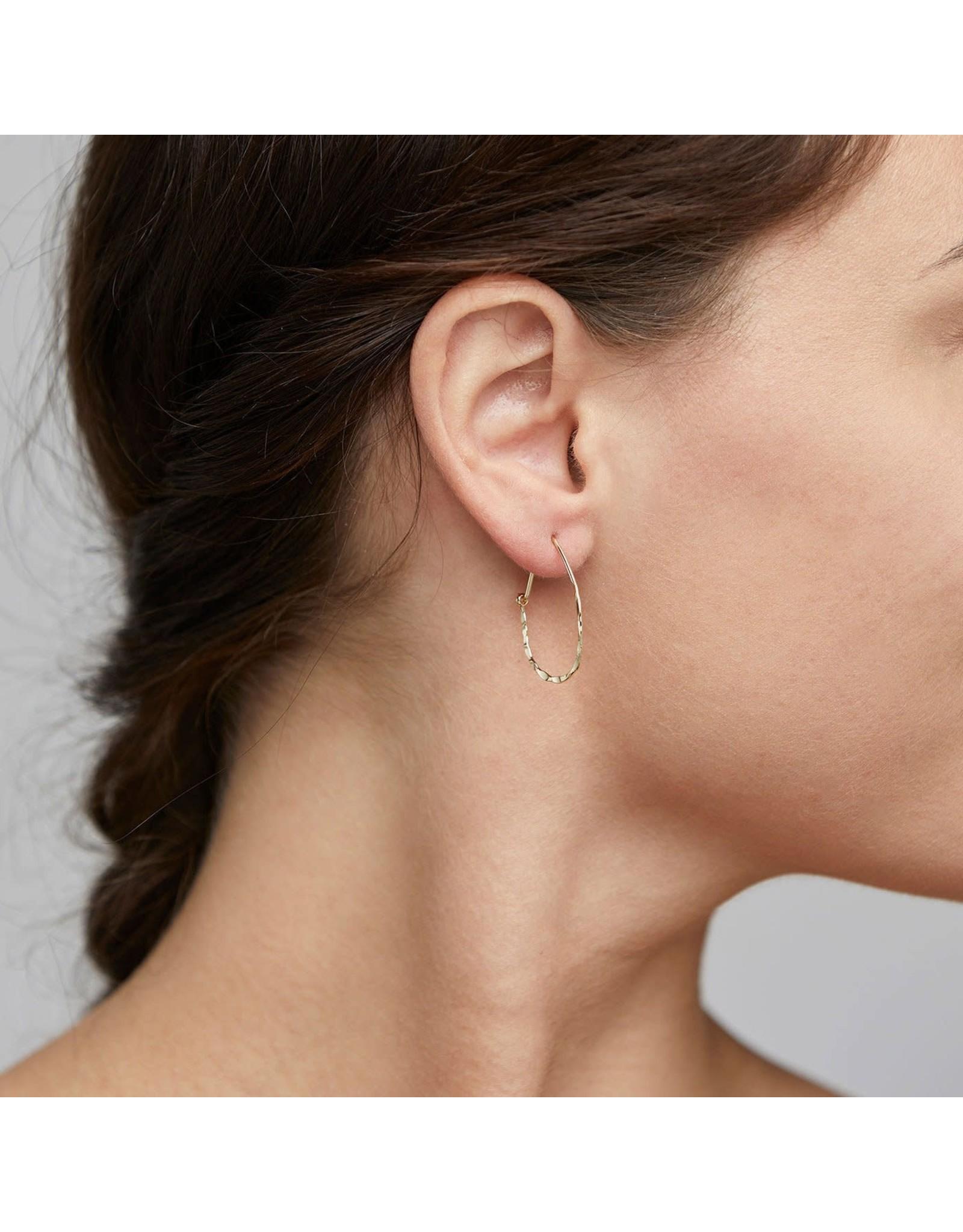 Pilgrim Olena Gold Plated Hoop Earrings