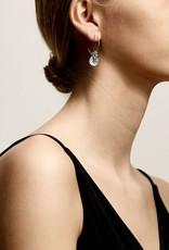 Pilgrim Air Silver Plated Earrings