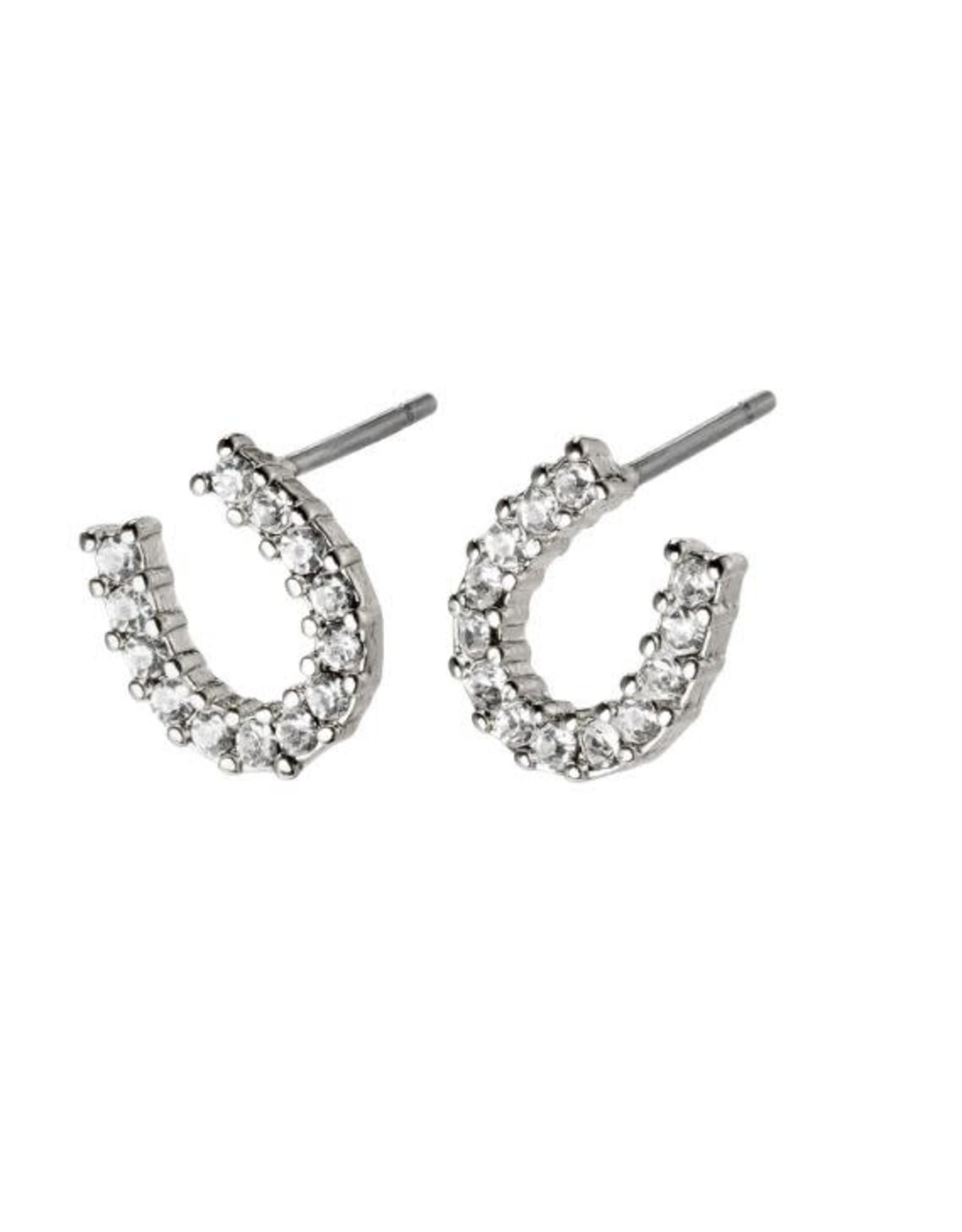 Pilgrim Earrings Leanna Silver  Pilgrim