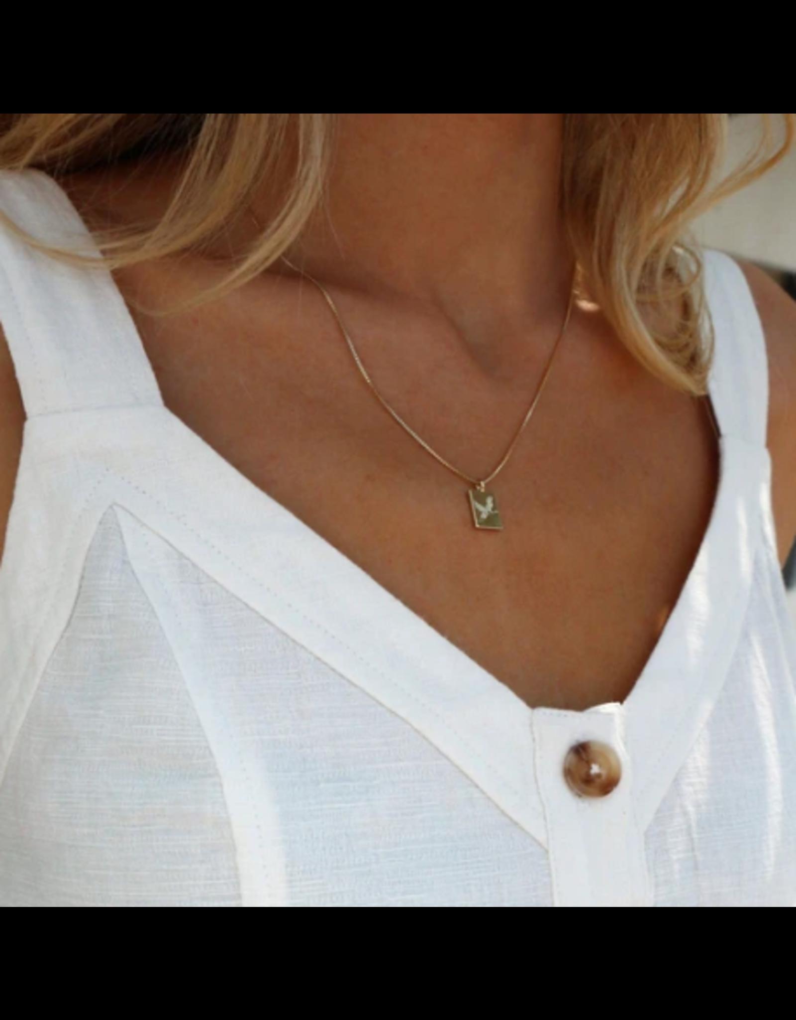 Pilgrim Necklace  Tana Gold  Pilgrim