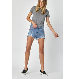 Mavi Mavi Rosie Light Retro Denim Shorts