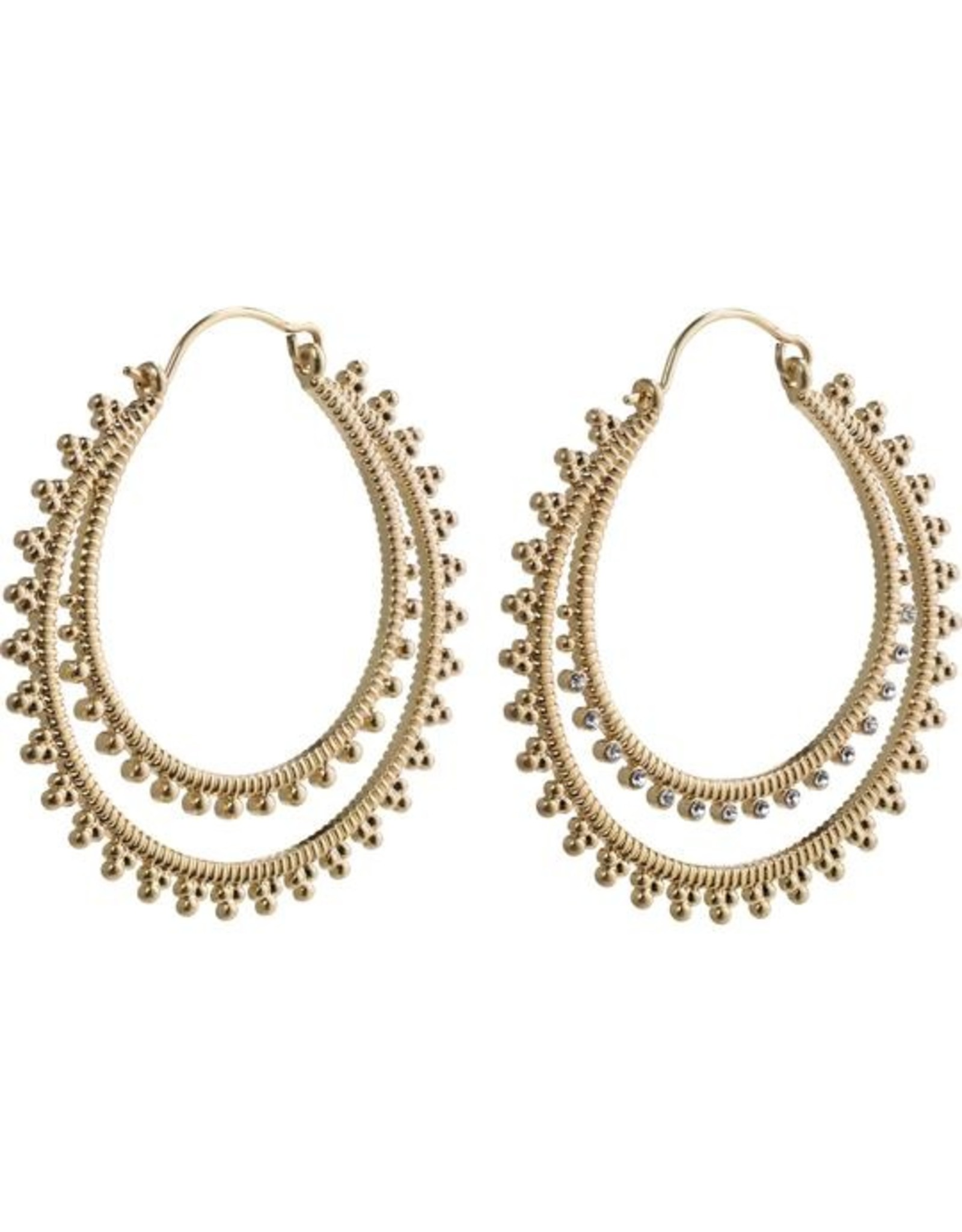 Pilgrim Earrings Pilgrim Joy Gold