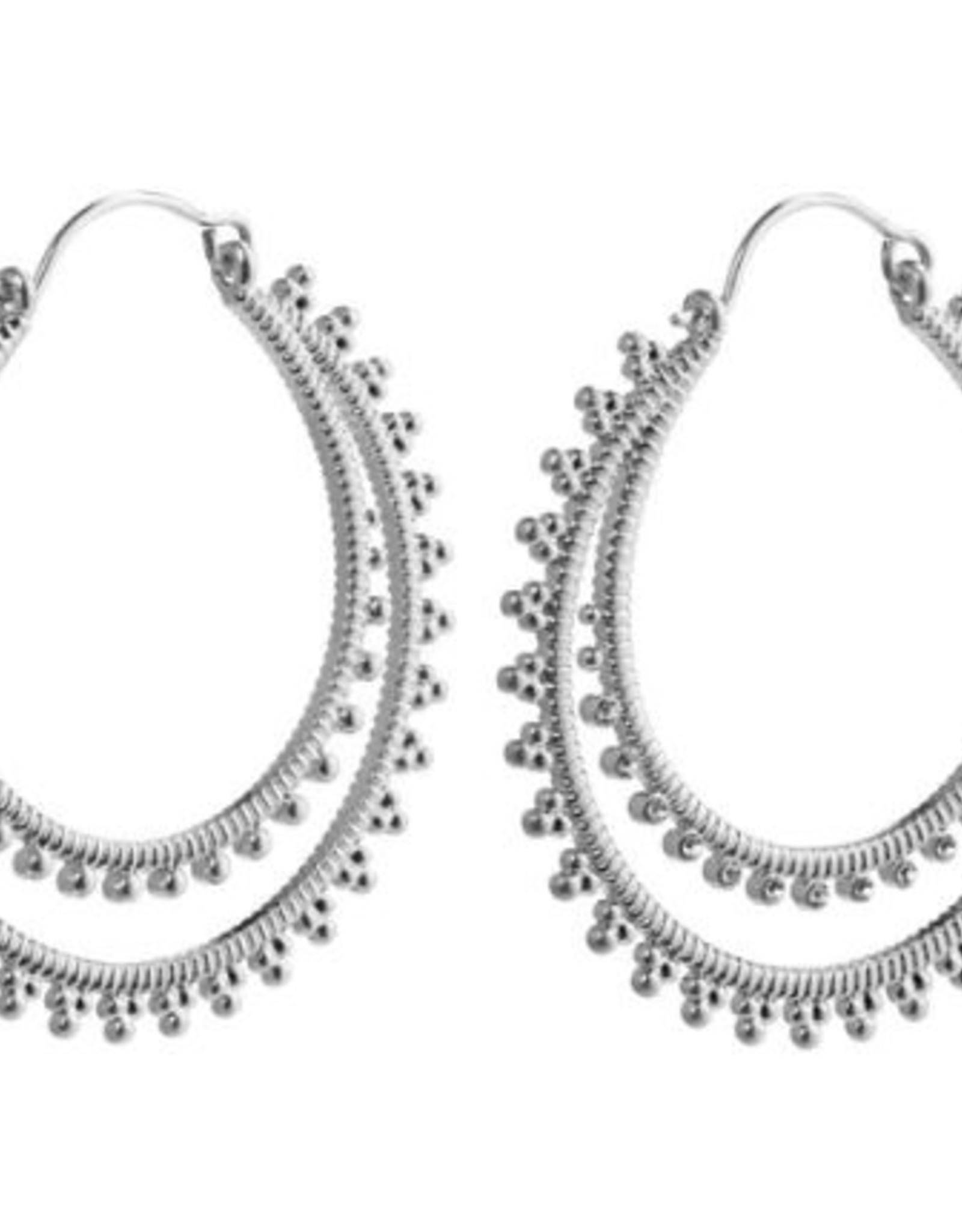 Pilgrim Earrings Pilgrim Joy Silver