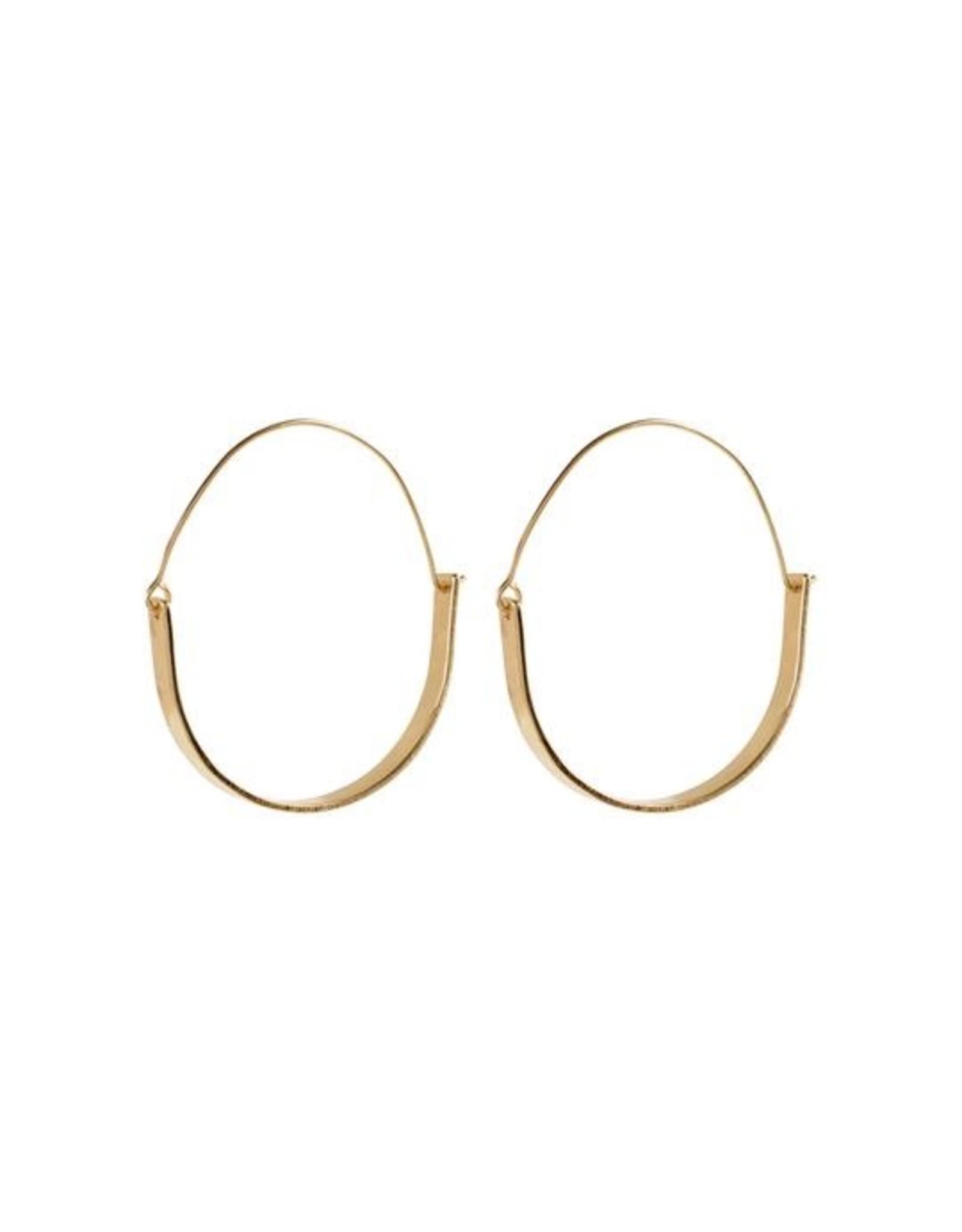 Pilgrim Earrings Idina Gold  Pilgrim