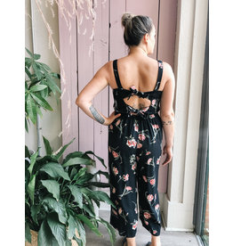 Saltwater Luxe Saltwater Luxe - Floral Culotte Jumpsuit