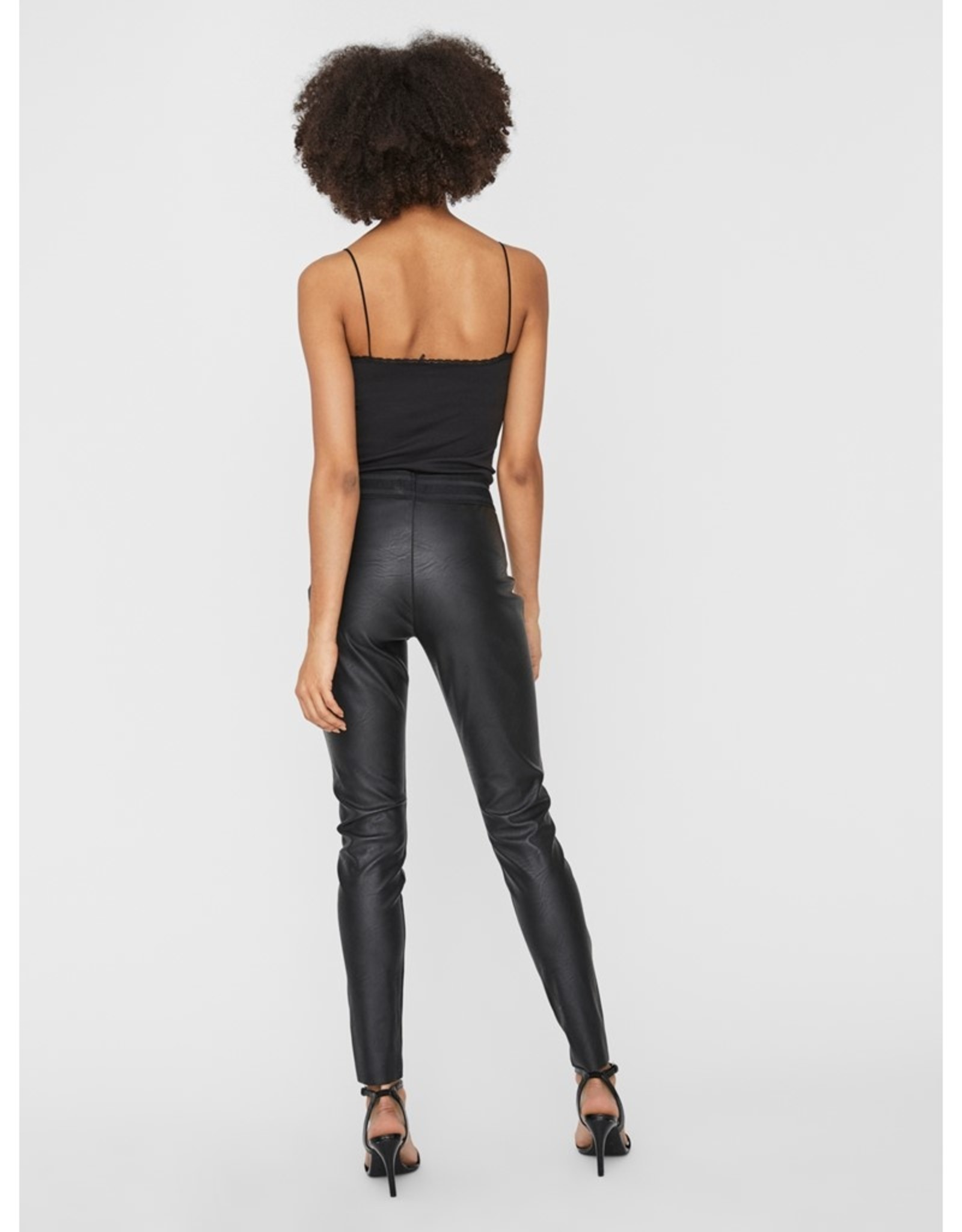 Vero Moda Faux Leather Leggings