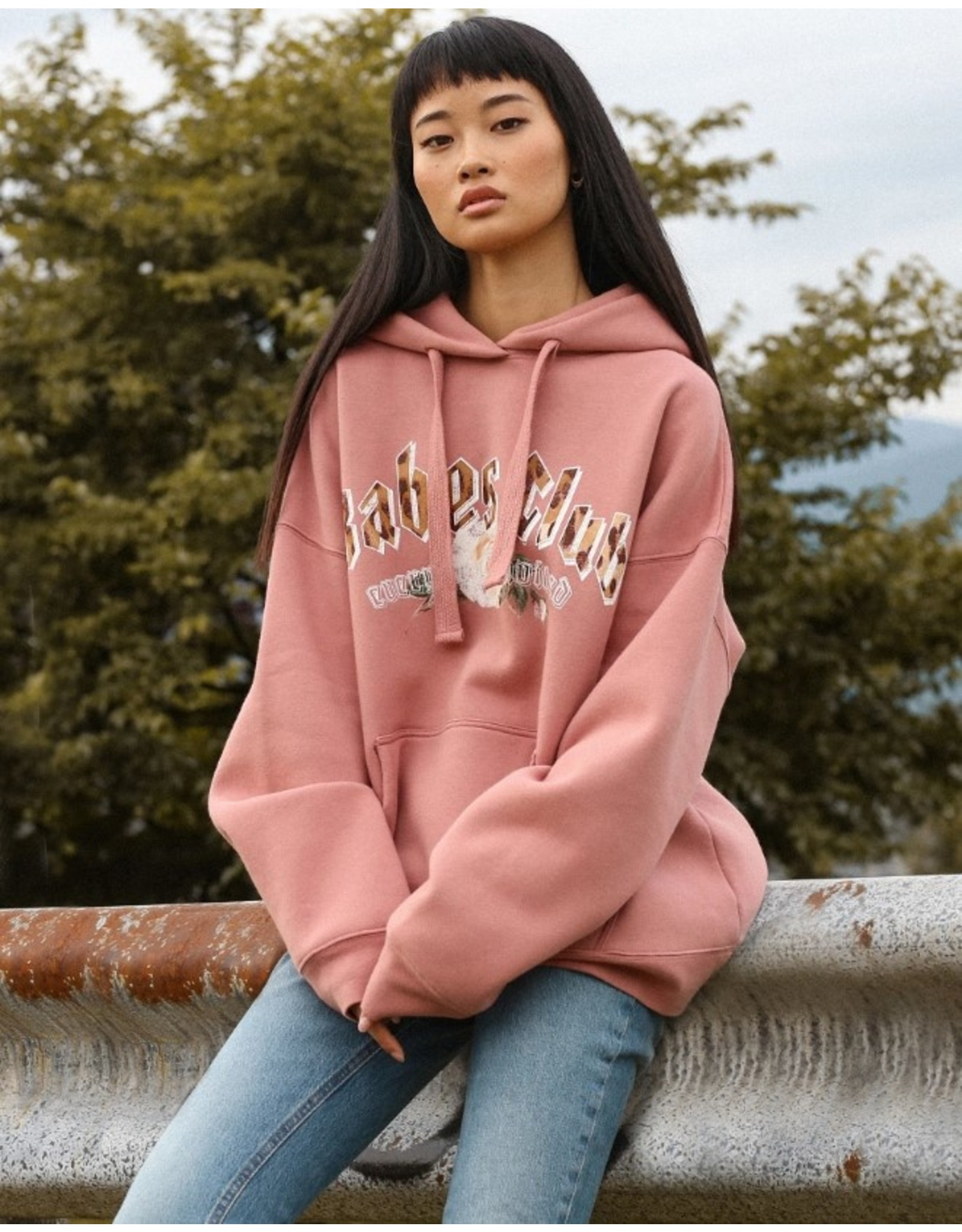 brunette the label Babes Club Big Sister Hoodie