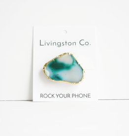 Livingtson Co. Rock Your Phone Gold Element