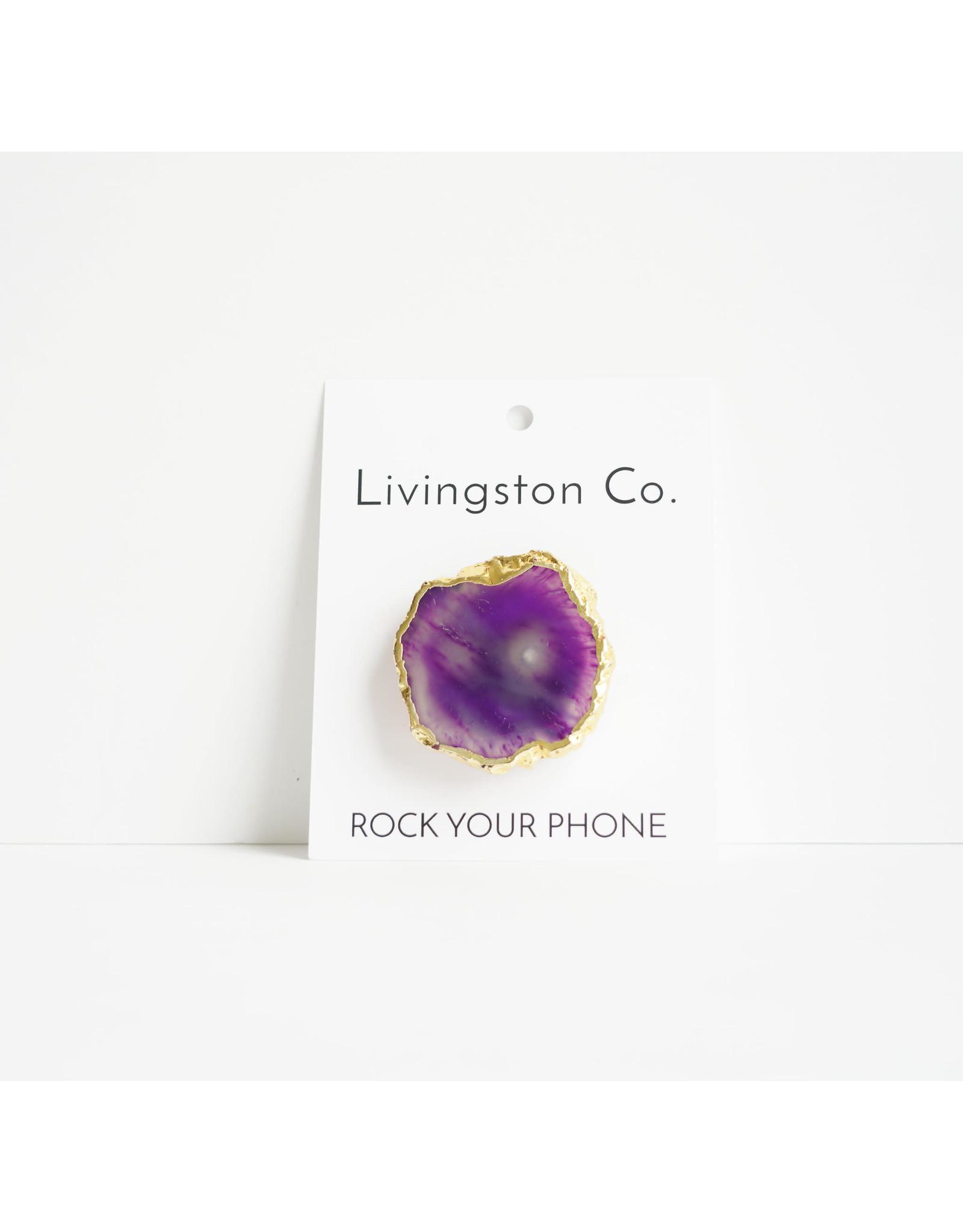 Livingtson Co. Rock Your Phone Gold Element
