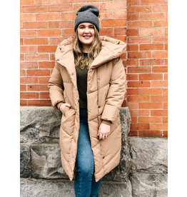 Noisy May Tally Long Puffer Coat