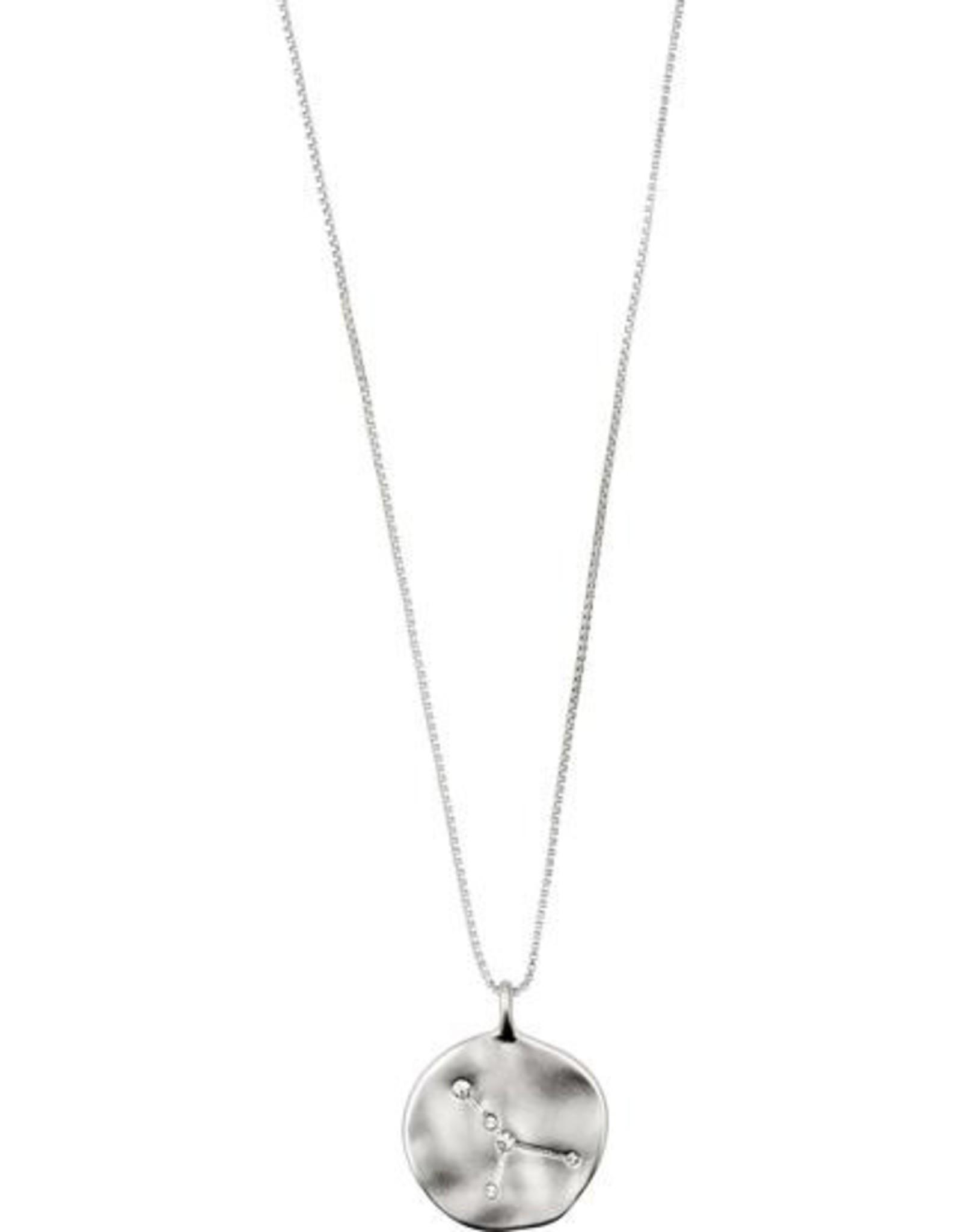 Pilgrim Astrological Necklace - Silver