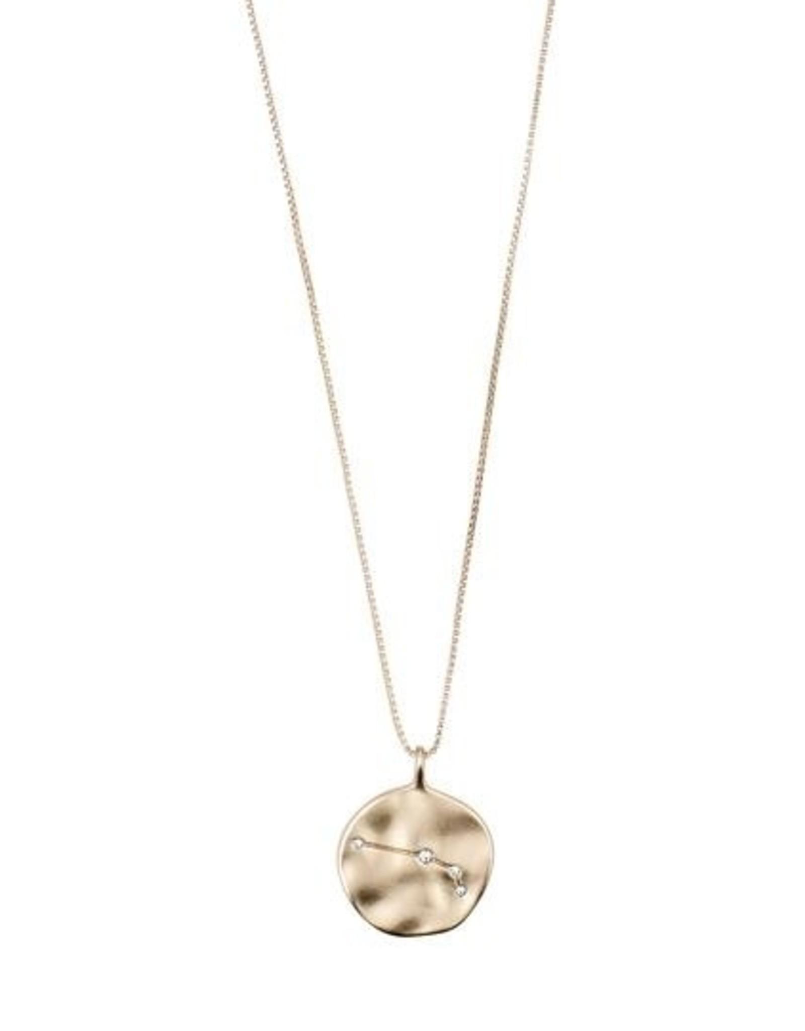 Pilgrim Astrological Necklace - Gold