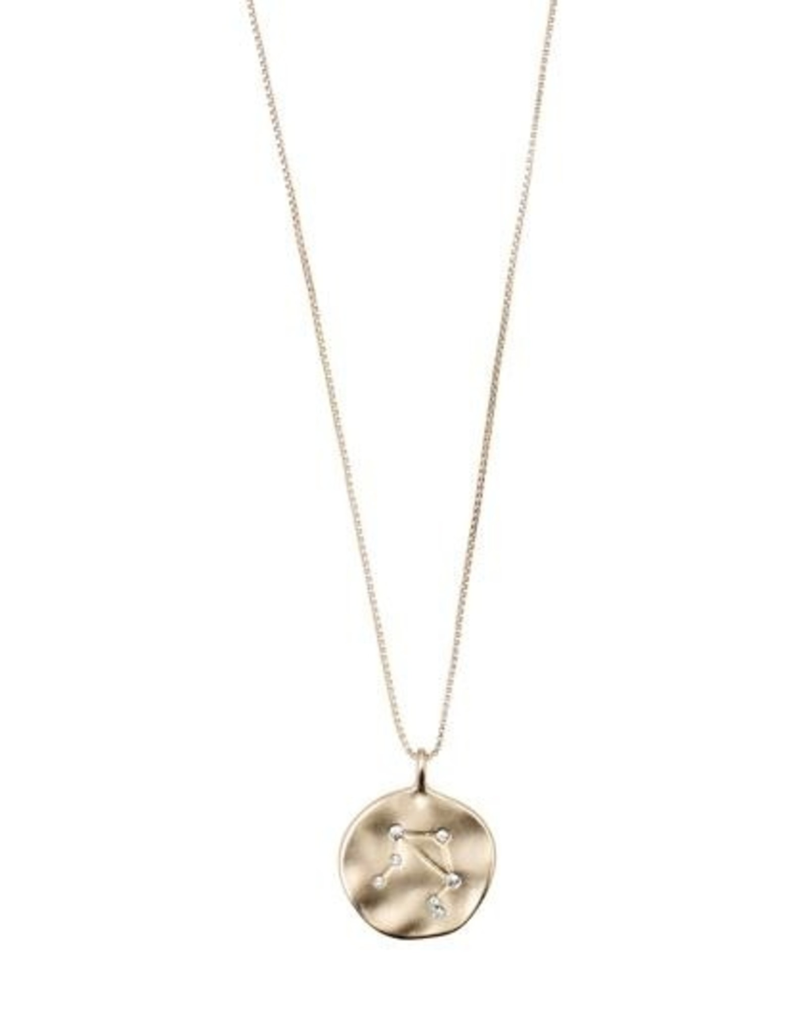 Pilgrim Astrological Necklace - Gold