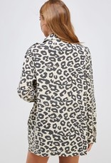 Ellison Amelia Leopard Utility Jacket