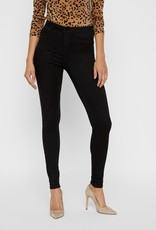 Noisy May Callie Black High Rise Skinny Jeans