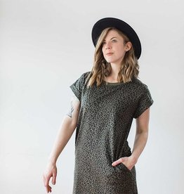 Ellison Emma  Leopard T-Shirt  Dress