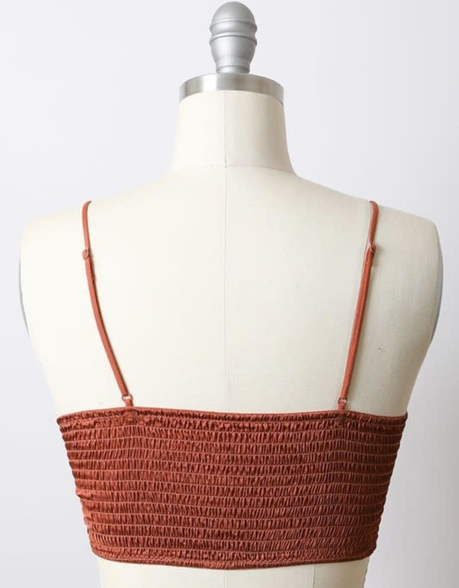 Scout the Label Ayla Crochet Bralette