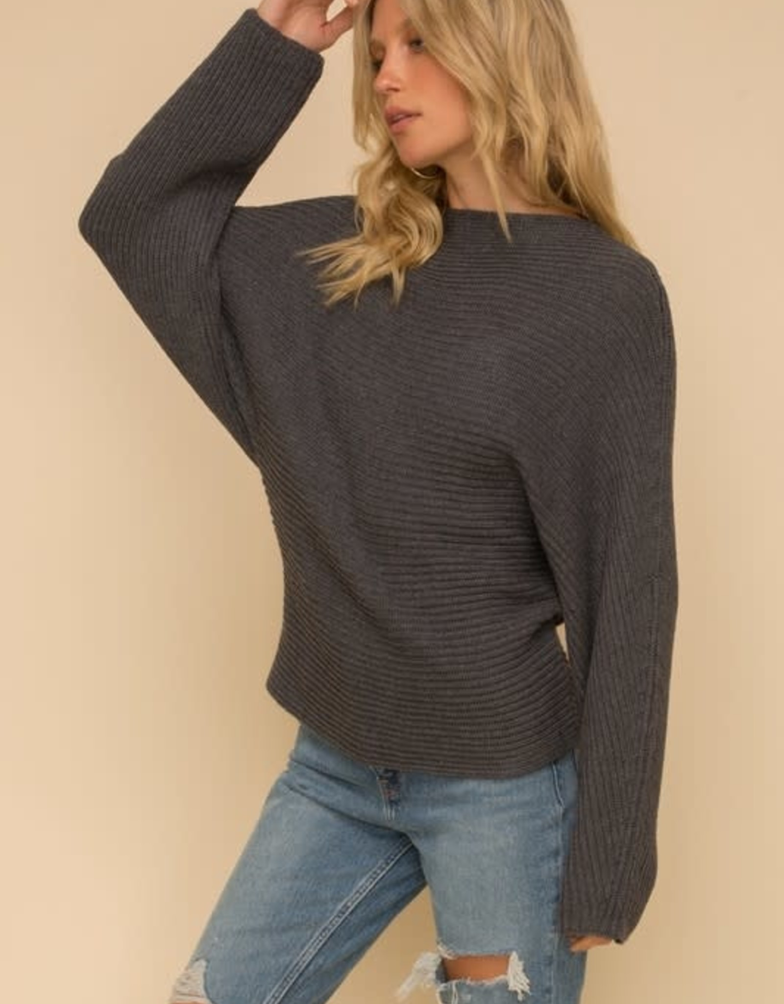 Scout the Label Lucy Mock Neck Dolman
