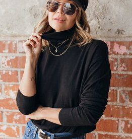 Love Stitch Knit turtleneck