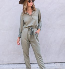 Love Stitch Laya Utility Jumpsuit